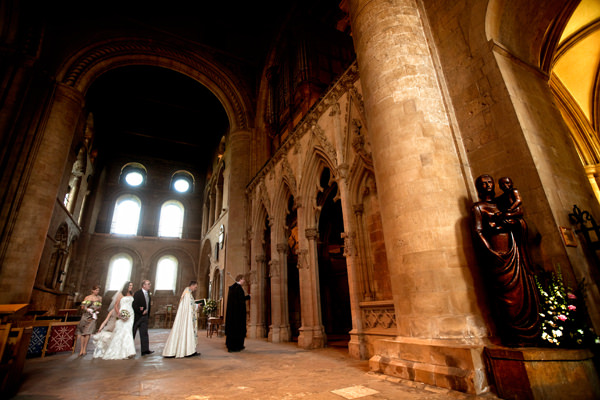 wedding, party, Southwell Minster