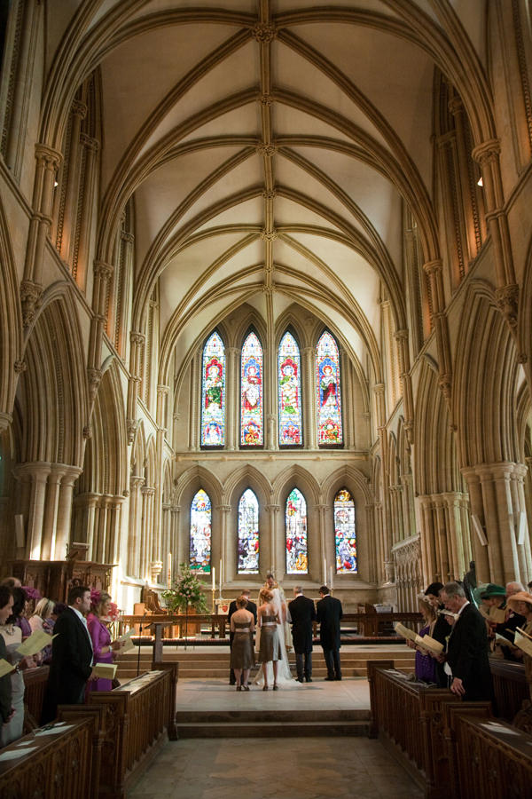 wedding, ceremony, Southwell Minster