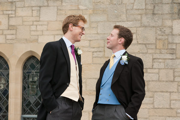 groom, best man, Ampleforth Abbey