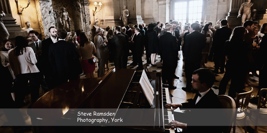 wedding, reception, Great Hall, Castle Howard