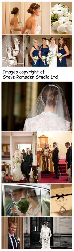 Oulton Hall weddings - selection of photographs