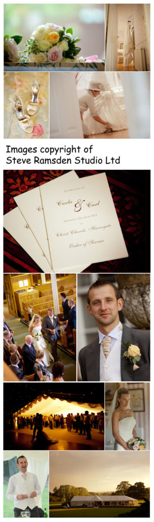 Wedding photography Newby Hall North Yorkshire