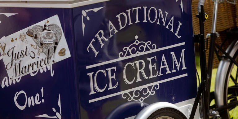 ice cream, vintage, wedding, something different