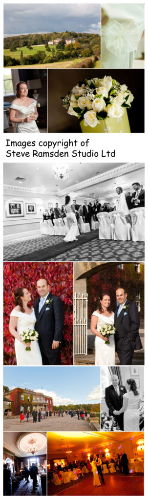 Wedding photography at Wood Hall