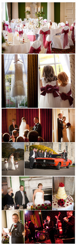 Hazlewood Castle, wedding, photographs