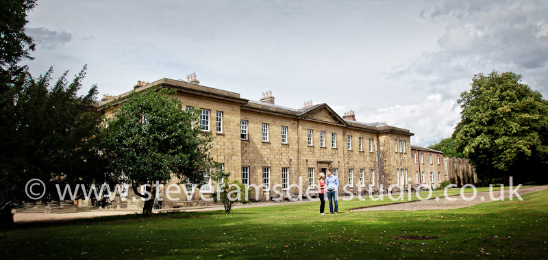 Portrait photography at Rise Hall