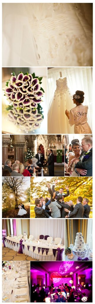 wedding photography at Rudding Park, Harrogate