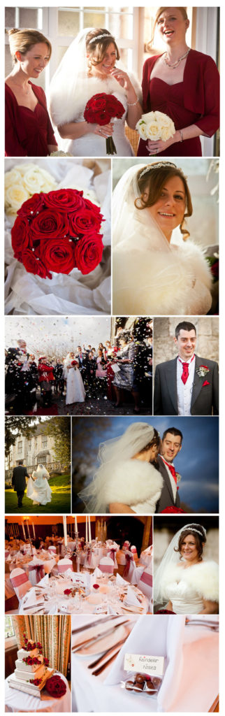 wedding photos at Monk Fryston Hall
