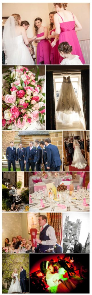 wedding photos at The Black Swan in Helmsley