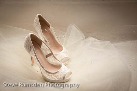 wedding shoes - bride
