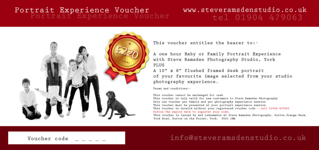 family portrait voucher