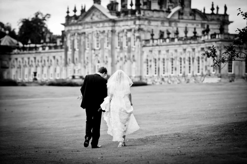 bride groom castle howard